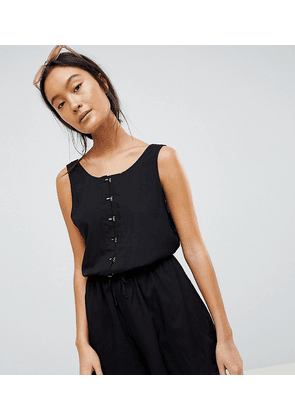 Weekday Playsuit with Hook and Eye Details