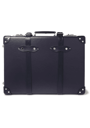 Globe-Trotter - 20' Leather-trimmed Carry-on Suitcase - Navy