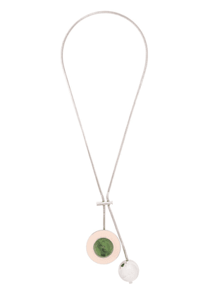 Marni sphere charm necklace - Silver