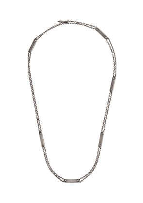 M. Cohen double strand necklace - Silver