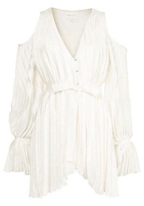 Alice Mccall Sun kissed V-neck playsuit - Neutrals