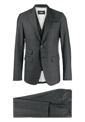 Dsquared2 checked formal suit - Grey