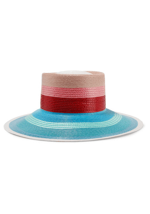Missoni - Striped Faux Straw Sunhat - Red