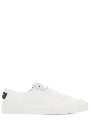 Light Leather Tennis Sneakers