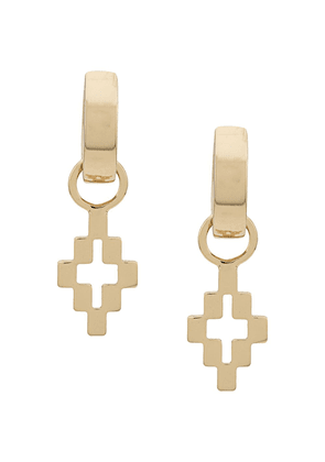 Marcelo Burlon County Of Milan cross pendant earrings - Gold