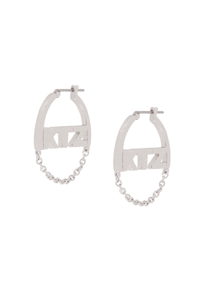 KTZ small chain earrings - Metallic