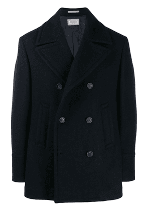 Brunello Cucinelli double breasted jacket - Blue