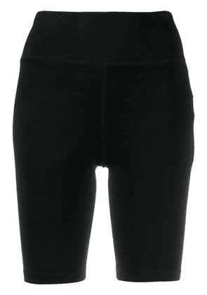 DKNY logo cycling shorts - Black