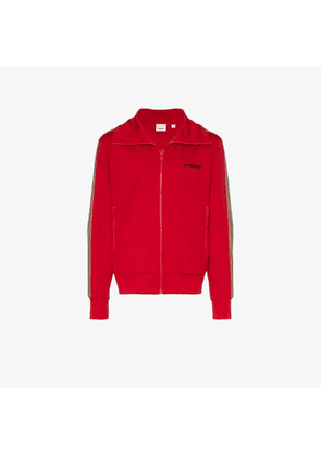 Burberry Icon stripe detail track top