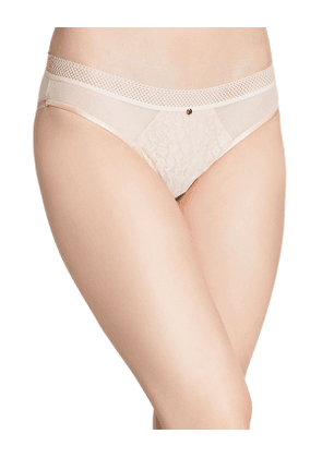 Spirit Lace-Front Bikini Briefs