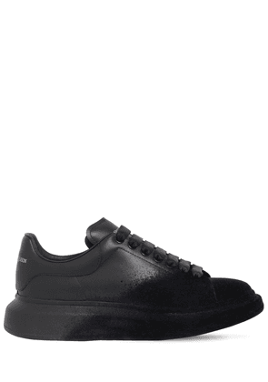 45mm Flocked Leather Sneakers