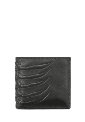 Classic Rib Cage Leather Billfold Wallet