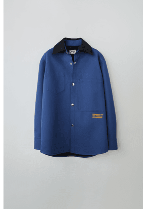 Acne Studios FN-MN-OUTW000148 Ink blue Relaxed overshirt