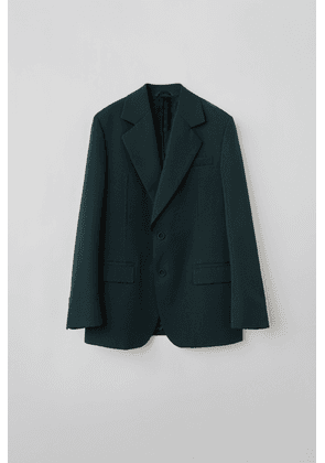 Acne Studios FN-MN-SUIT000019 Forest green/black  Tailored suit jacket