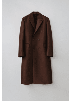Acne Studios FN-MN-OUTW000244 Bronze/charcoal  Double breasted coat