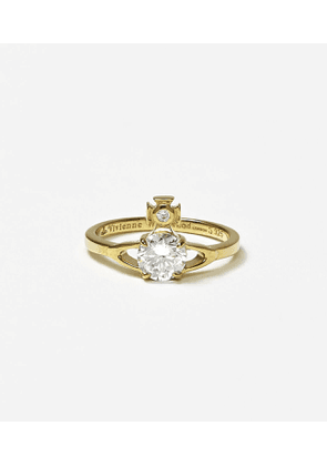 Sterling Silver Reina Petite Ring Gold