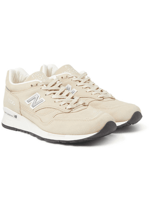 Pop Trading Company - X New Balance M1500 Leather And Suede Sneakers - Beige