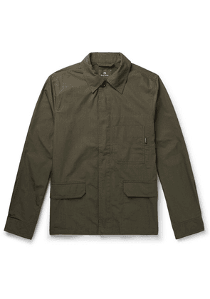 PS Paul Smith - Cotton-blend Ripstop Field Jacket - Green