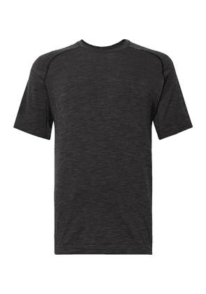 Lululemon - Metal Vent Tech Stretch-jersey T-shirt - Black