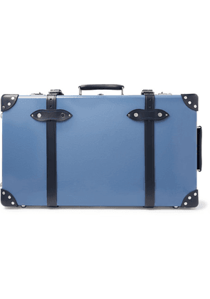 Globe-Trotter - Deluxe 26' Leather-trimmed Suitcase - Navy