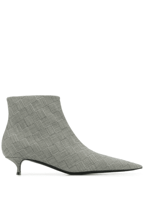 Balenciaga knife booties - Grey