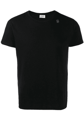 Saint Laurent robot print T-shirt - Black