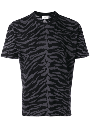 Saint Laurent printed T-shirt - Black