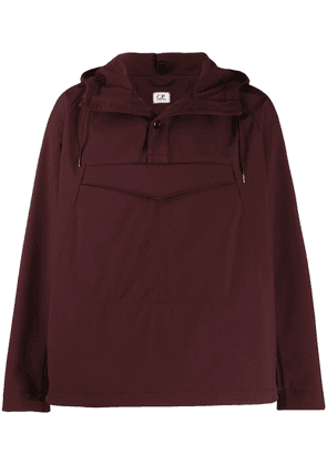 CP Company hooded buttoned jacket - Brown