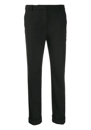Boutique Moschino sharp suit trousers - Black