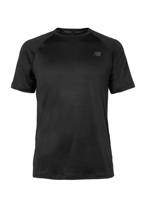 New Balance - Anticipate 2.0 Stretch-mesh T-shirt - Black