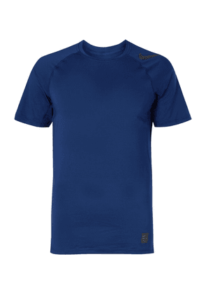 Nike Training - Pro Hypercool Mesh-panelled Stretch-jersey T-shirt - Blue