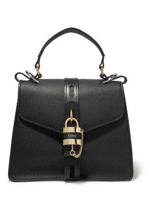 Chloé - Aby Small Textured-leather Tote - Black