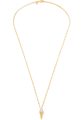 Pernille Lauridsen - Gold-plated Pearl Necklace - one size