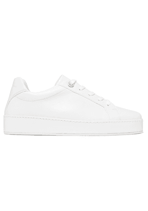 Loro Piana - Nuages Leather Sneakers - White