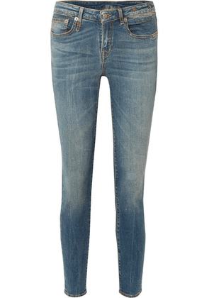 R13 - Alison Mid-rise Skinny Jeans - Blue