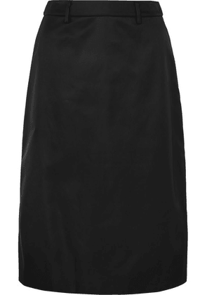 Prada - Appliquéd Nylon Midi Skirt - Black