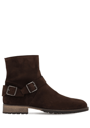 Trialmaster Hand-waxed Suede Boots