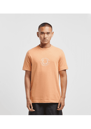 Fred Perry Global Short Sleeve T-Shirt, Orange