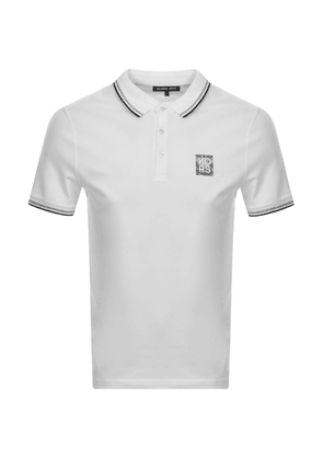 Michael Kors New Logo Polo T Shirt White