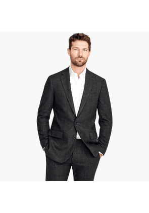 Ludlow Slim-fit blazer in bold windowpane wool bend