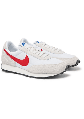 Nike - Daybreak Nylon And Suede Sneakers - White