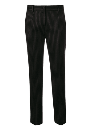 Dolce & Gabbana low waist tailored trousers - Black