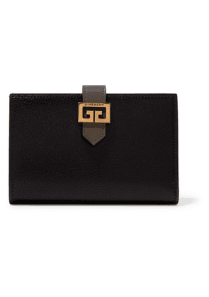 Givenchy - Gv3 Smooth And Textured-leather Wallet - Black