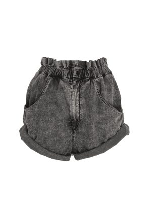 Isabel Marant Lucio High-Rise Denim Shorts