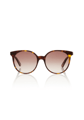 Gucci Sunglasses Acetate Round-Frame Sunglasses