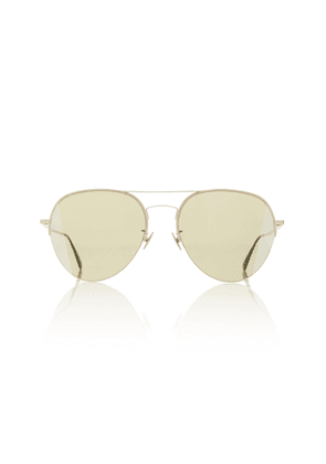 Bottega Veneta Sunglasses Aviator-Style Metal Sunglasses
