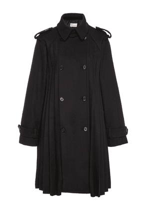 Red Valentino Pleated Mini Trench