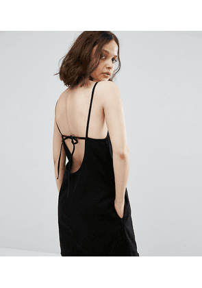Weekday Cami Dress with Back Strap Detail