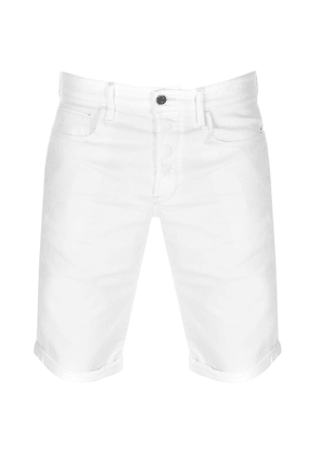G Star Raw 3301 Denim Shorts White
