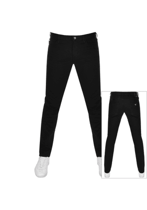 Emporio Armani J10 Slim Fit Jeans Black